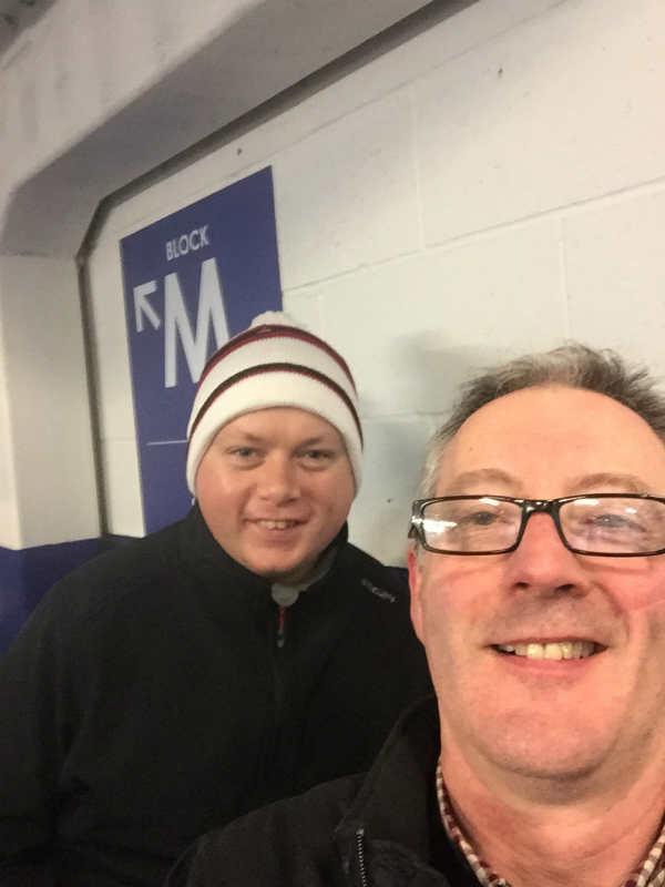 Sligo Members Bryan & Adrian at Leicester away
