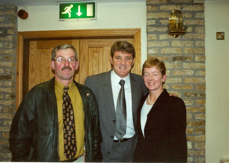 Kevin Connolly Steve Bruce & Carmel Connolly