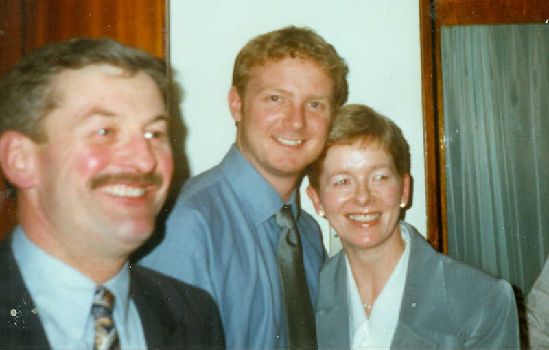 Kevin Connolly, David May & Carmel Connolly