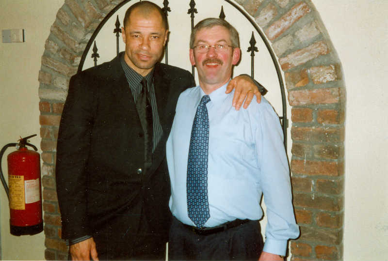 Paul McGrath & Kevin Connolly