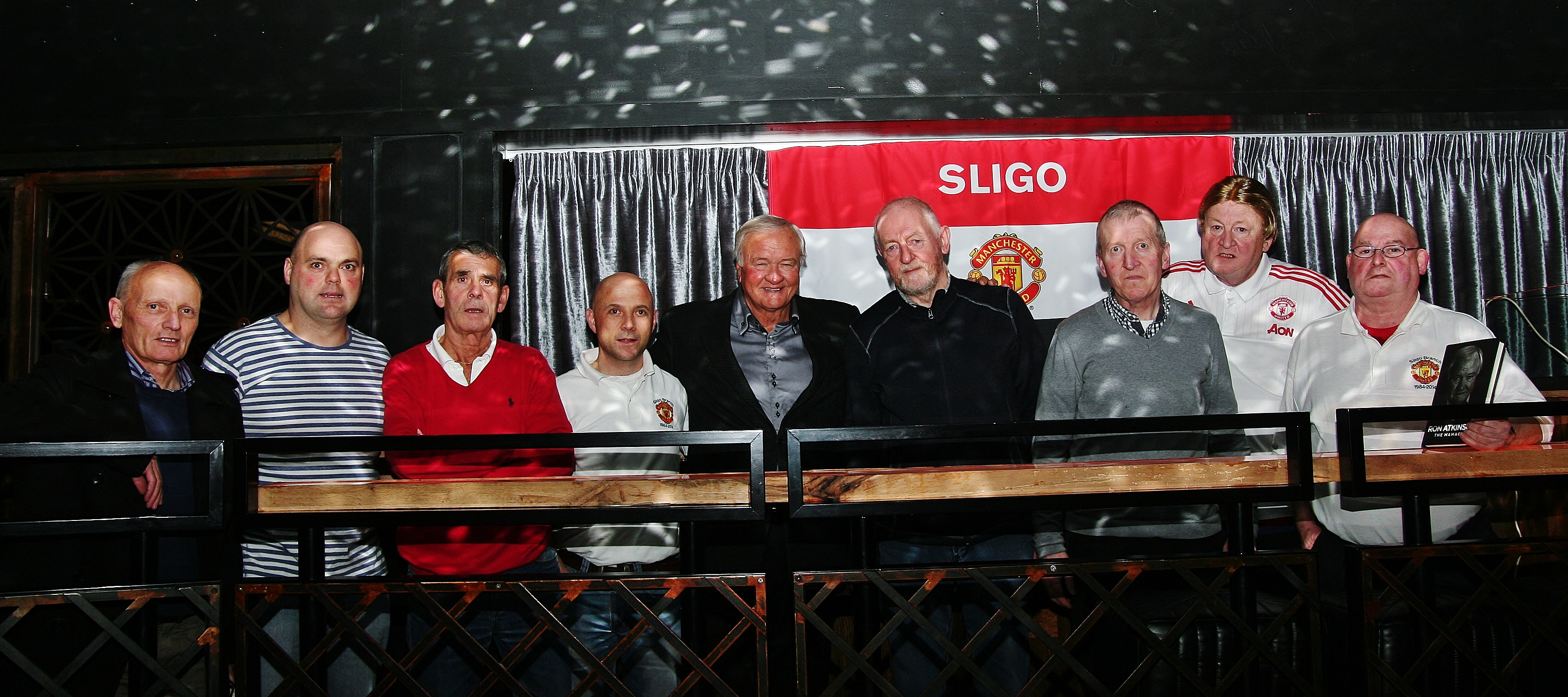 Ron Atkinson & Sligo Branch committee members