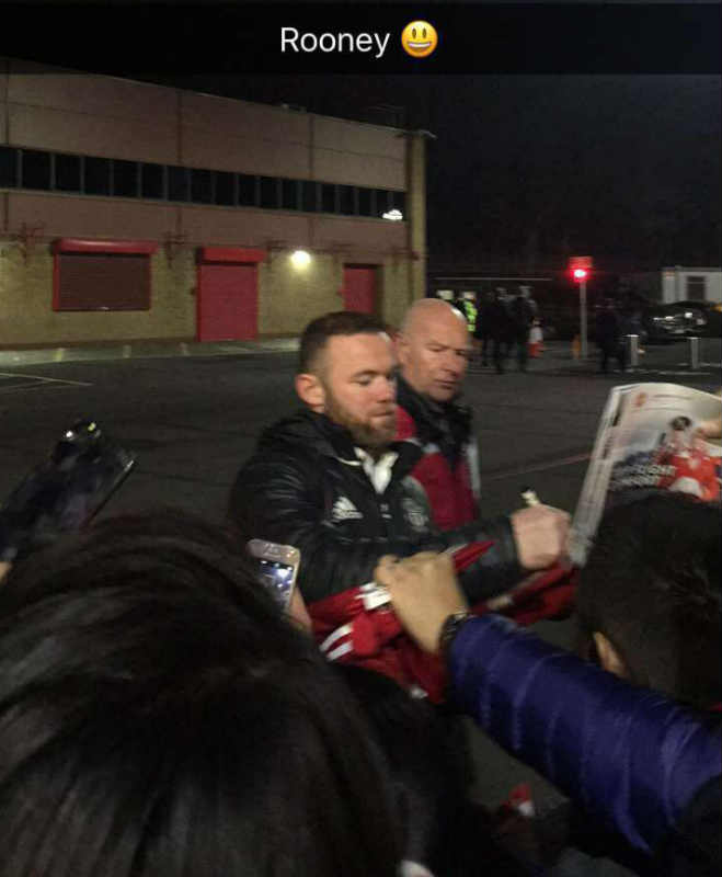 Rooney  after United v West Ham 27/11/2016