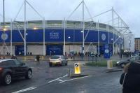 fans view of Leicester Citys Stadium