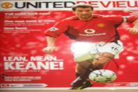 Signed Roy Keane programme