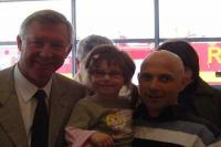 Alex Ferguson with Francie & Rayann Tighe